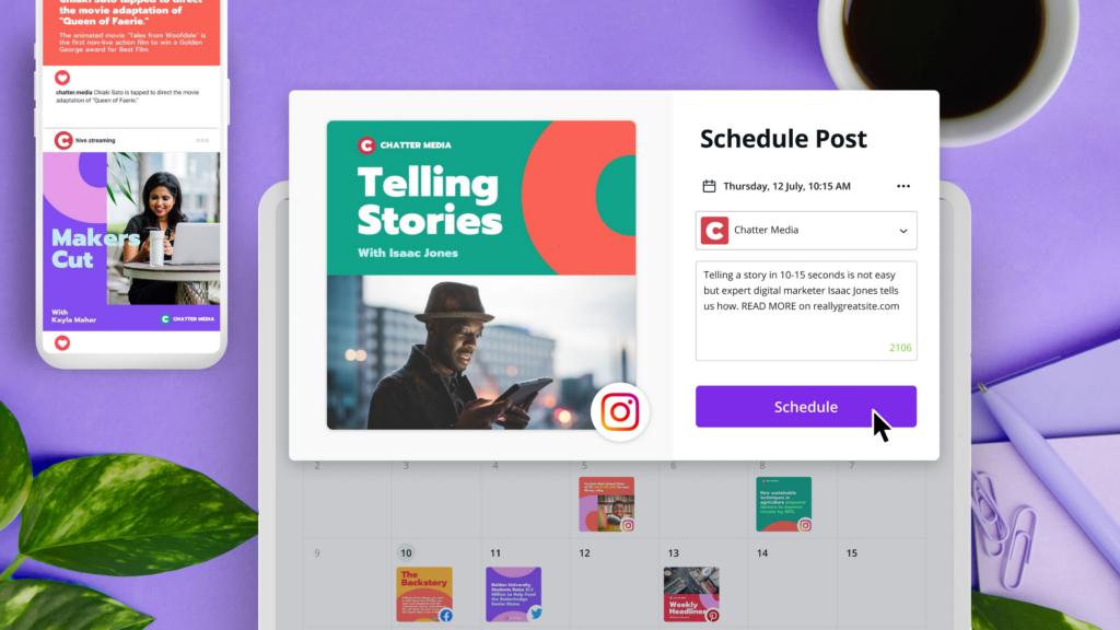 Canva lleva herramientas de diseño y programación de Instagram a su plataforma (Prueba Canva Pro Gratis) ⋆ Red Mujeres x El Mundo